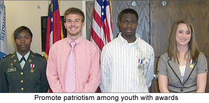 Image of youth award recipients